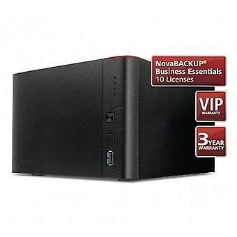 Buffalo 12TB TeraStation 1400 Business Class NAS Drive (4 x 3TB), NovaBACKUP, 24 Hour HDD Swap Out Warranty