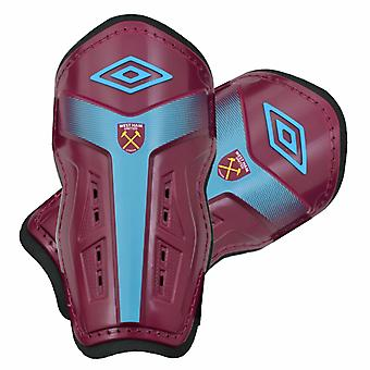 West Ham United FC niños/Junior oficial Umbro canilleras