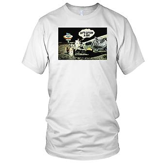 Moon Ride - DJ Strand Ibiza Party Surfer Damen T Shirt
