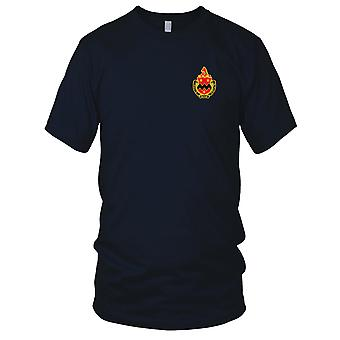 US Army - 16th Field Artillery Regiment Embroidered Patch - Ladies T Shirt