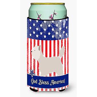 Westie American Tall Boy Beverage Insulator Hugger