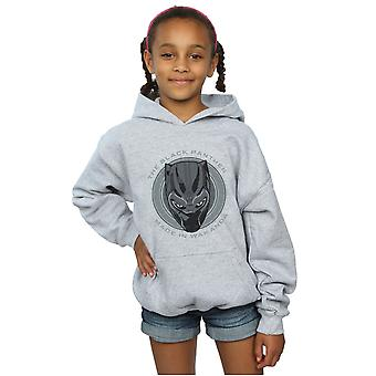 Marvel Mädchen Black Panther Made in Wakanda Hoodie