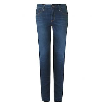 Levi's Red Tab 721 High Rise Skinny Selvedge Jeans