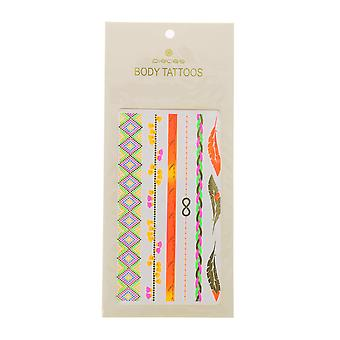 Festival Klebetattoos temporary tattoos pieces