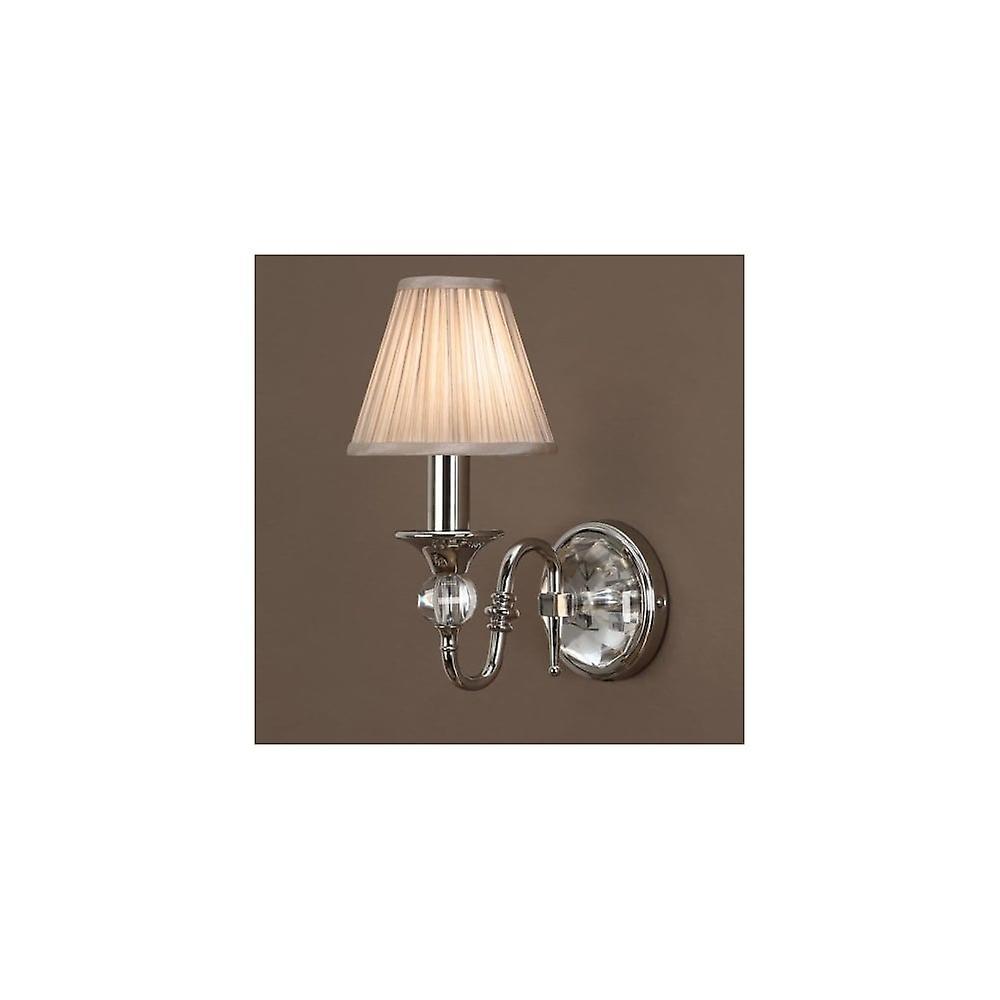 Interiors 1900 LX124W1N + CA1SHN Polina Single lumière Polished Nickel W