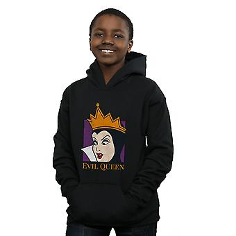 Disney Boys Evil Queen Cropped Head Hoodie