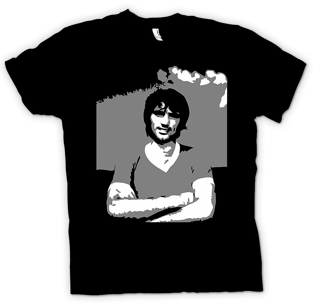 Mens T-shirt - George Best - BW