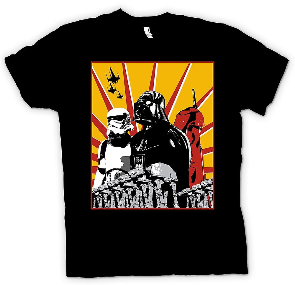 Womens T-shirt - Star Wars - Darth Vader & Sturm Tropper