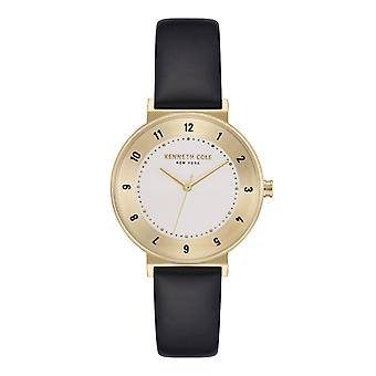 Kenneth Cole New York women's wrist watch analoga quartz läder KC50075002