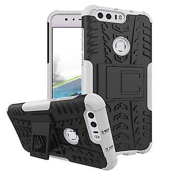 Hybrid tilfelle 2 stykke Koczian utendørs hvitt for Huawei honor 8 Pocket coveret beskyttelse