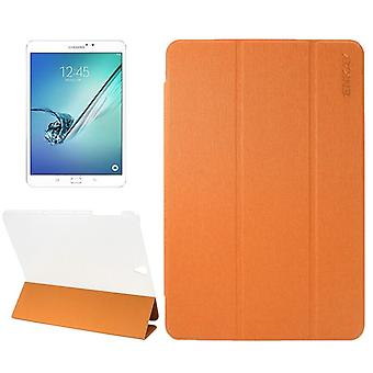 ENKAY smart dekke oransje for Samsung Galaxy tab S3 9,7 T820 T825 2017 bag hylse
