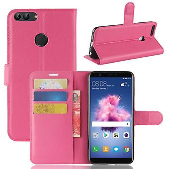 Pocket wallet premium Pink for Huawei enjoy 7S / P smart protection sleeve case cover pouch new