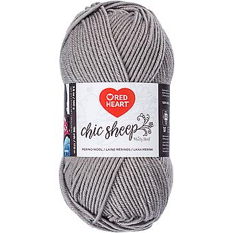 Red Heart Chic Sheep Yarn-Sterling