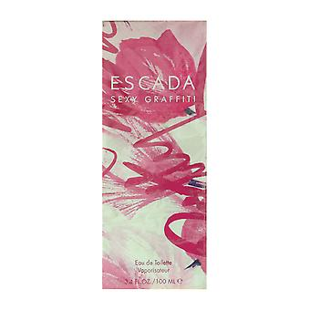 ESCADA Sexy Graffiti Eau De Toilette Spray 3,4 Oz/100 ml oprindelige formel