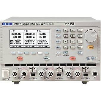 Aim TTi MX180TP Bench PSU (adjustable voltage) 0 - 60 V 0 - 3 A 18 W, 180 W No. of outputs 3 x