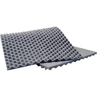 Acoustic foam (L x W x H) 900 x 400 x 20 mm Sinuslive 10076