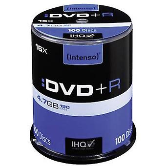 En blanco DVD + R 4.7 GB Intenso 4111156 100 PC huso