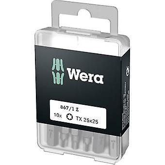 Torx bit T 25 Wera 867/1 Z DIY SiS Tool steel allo