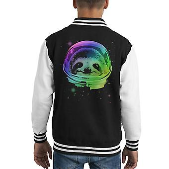 Space Sloth Kid's Varsity Jacket