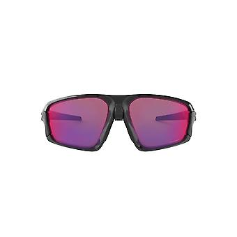 Oakley Field Jacket Sunglasses In Polished Black Prizm Road