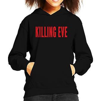 Killing Eve Logo Kid's Hooded Sweatshirt