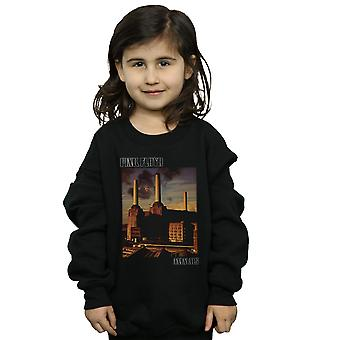 Pink Floyd Girls Animals Poster Sweatshirt