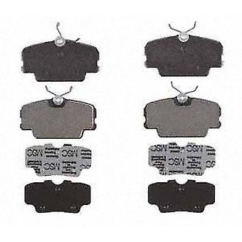 Raybestos PGD278M Professional Grade Semi-Metallic Disc Brake Pad Set
