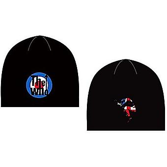 The Who Target / Pete Leap woven black beanie hat - official product  (ro)