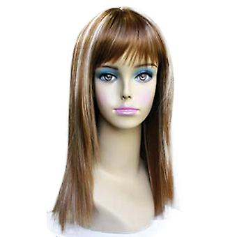 Fashion women medium straight E DADA professional wig