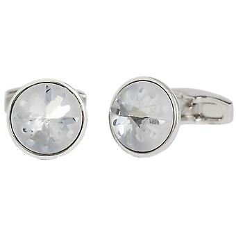Simon Carter Swarovski Sea Urchin Cufflinks - Light Blue