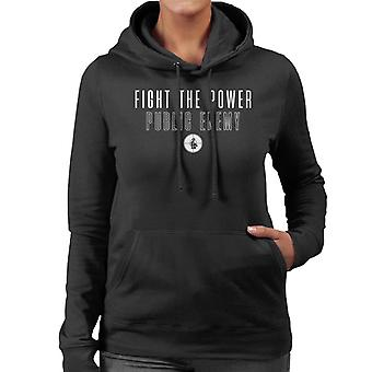 Fight The Power Song Lyric Women's Hooded Sweatshirt