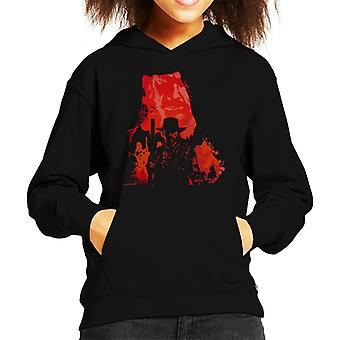 Outlaw For Life Red Dead Redemption II Kid's Hooded Sweatshirt
