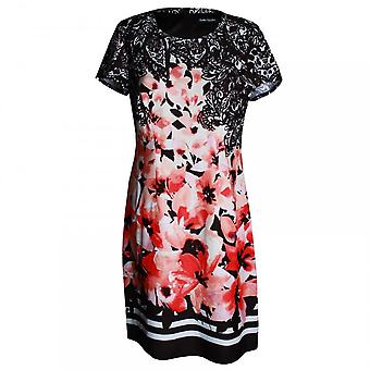 Betty Barclay Women's Floral Short Sleeve A Line Dress