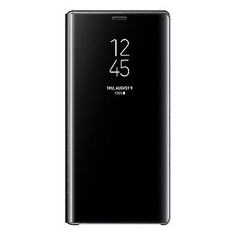 Samsung Galaxy Note 9 Clear View Standing Cover-black
