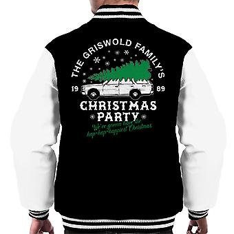Griswold Family Christmas Party Men's Varsity Jacket