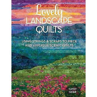 Ses charmants paysages Quilts - à l'aide de cordes et des morceaux de morceau et Appliq