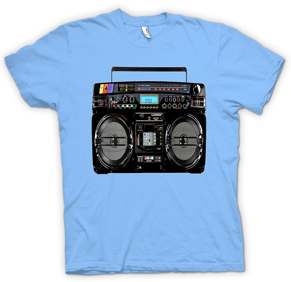 Heren T-shirt - iPod - Ghetto Boom Box