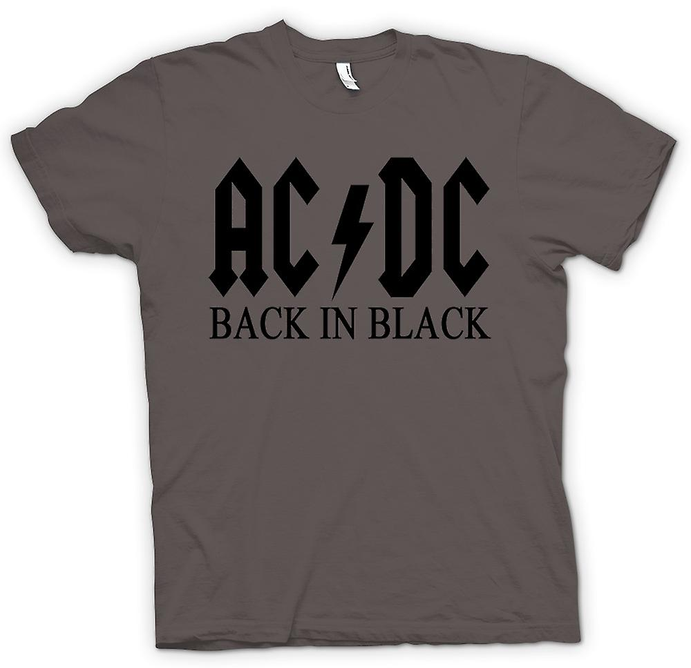 Womens T-shirt - AC/DC terug In Black - Rock