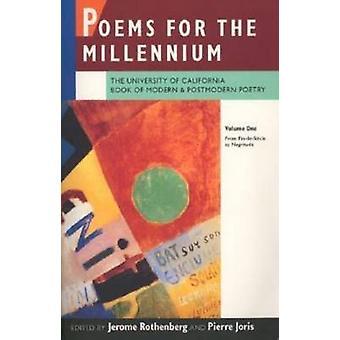 Gedichten voor de Millennium - het boek van de Universiteit van Californië van de moderne