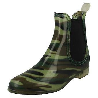Womens flekk på ankelen Wellington Boot