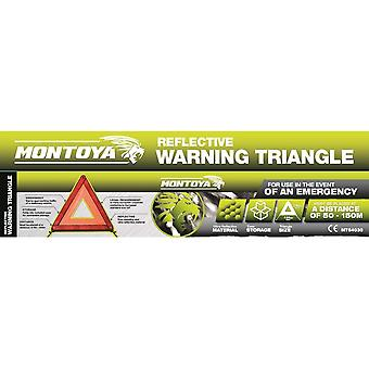 Montoya Car Safety Reflective Emergency Breakdown Warning Triangle Hazard Sign