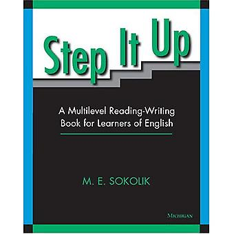 Step It Up: A Multilevel Reading-writing Book for Learners of English