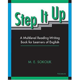 Step It Up: En planskild läsa-skriva bok för inlärare av Svenska