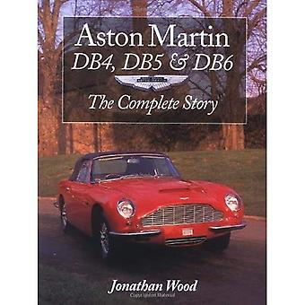 Aston Martin DB4, DB5 and DB6: The Complete Story (Crowood autoclassic)