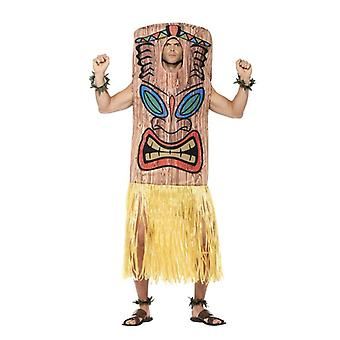 Mens Tiki Totem Fancy Dress Costume