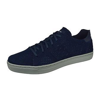 Skechers Alven Moneco Mens Casual Trainers / Shoes - Navy