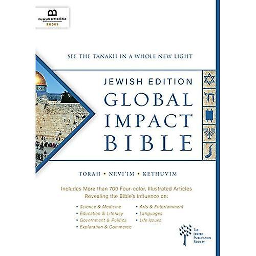 Global Impact Bible, JPS Tanakh Jewish Edition (Hardcover)  See the Bible in a Whole New Light