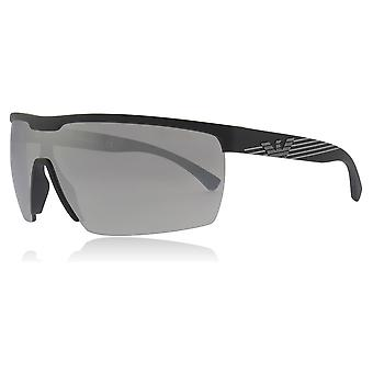 Emporio Armani EA4116 50426G Matte Black EA4116 Visor Sunglasses Lens Category 3 Lens Mirrored Size 42mm