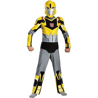 Bumblebee Transformer Costume For Children