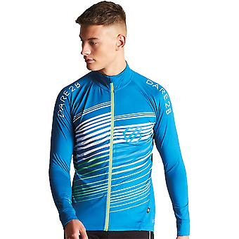Dare 2b Mens AEP Expatiate Wicking Full Zip Cycling Jersey